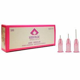 Лабораторное и испытательное оборудование - Игла для микроинъекц 32G(0,23*6мм) стер.однораз. для мезотерапии серии МЕЗОРАМ 1, 0