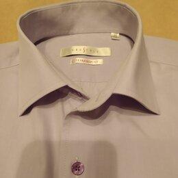 Рубашки - Рубашка для мальчика, цвет нежно-сиреневый, размер М, 0