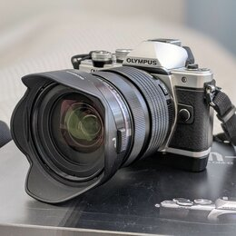 Фотоаппараты - Olympus om-d e-m10 mark II + ED 12-40mm f2.8 PRO, 0