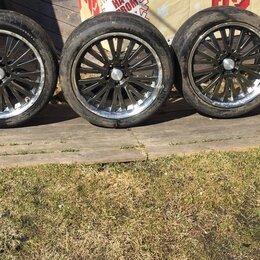 Шины, диски и комплектующие - Бмв е60 19 колеса разноширокие, 0