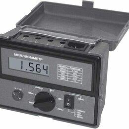 Измерительное оборудование - Миллиомметр цифровой АМ-6000, 0