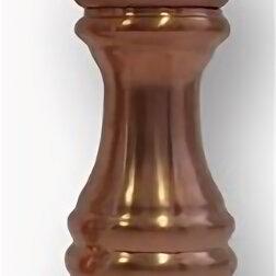 Солонки, перечницы и ёмкости для специй - Мельница для перца h 16,5 см, бук, медное сатин. покрытие, RAME, 0