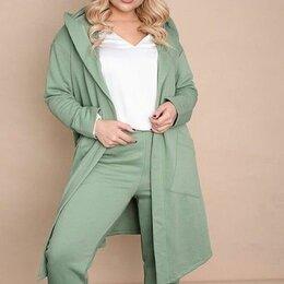 Костюмы - Женский тёплый костюм 3-ка р-ры 50-62, 0