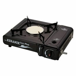 Туристические горелки и плитки - Портативная газовая плита Keramic Guru Plus TS-201, 0