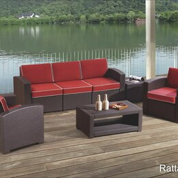 Комплекты садовой мебели - Комплект садовой мебели RATTAN Premium 5, 0
