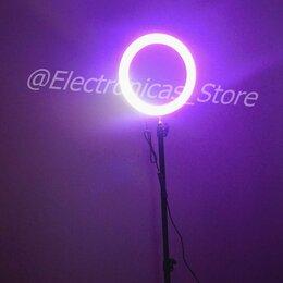Осветительное оборудование - Кольцевая лампа RGB 26 см, 0