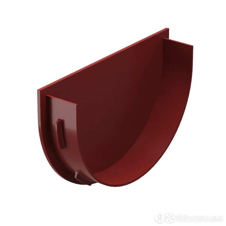 Заглушка воронки водостока Дёке Premium RAL RR29 Гранат по цене 112₽ - Кровля и водосток, фото 0