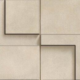 Мозаика - CERDOMUS Chrome Mosaico 3D Sand 12,5X25, 0