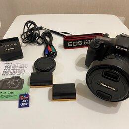 Фотоаппараты - Canon 60D + Tokina 11-20 2.8 + аксессуары, 0