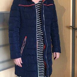 Куртки - Куртка-пальто на синтепоне зимняя, 0