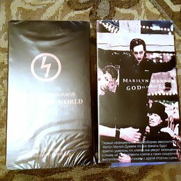 Музыкальные CD и аудиокассеты - Marilyn Manson Dead to the World God is in the TV VHS видеокассета, 0