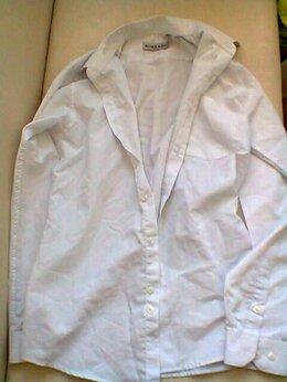 Рубашки и блузы - Рубашка белая 35 размер 10-11 лет в школу, 0