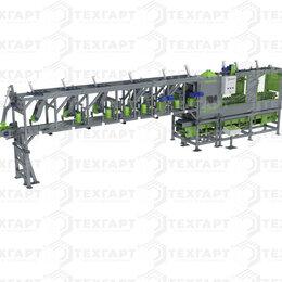 Производственно-техническое оборудование - ЛАФЕТНО-БРУСУЮЩИЙ СТАНОК С ГУСЕНИЧНОЙ ПОДАЧЕЙ WOLLER BS-550 LINIE, 0