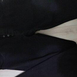 Брюки - Черные брюки выцвели, 0