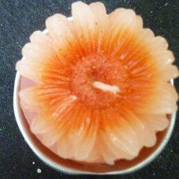 Декоративные свечи - Набор Свечей цветок 3шт, 0