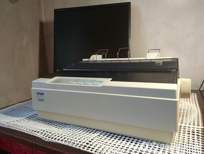 Принтер EPSON LX-300+ по цене 1500₽ - Матричные принтеры, фото 0