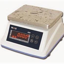 Прочая техника - Весы электронные порционные влагостойкие MAS MSWE-06, 0