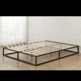 Кровати - Кровать металлическая двуспальная 1800х2000 лофт, 0