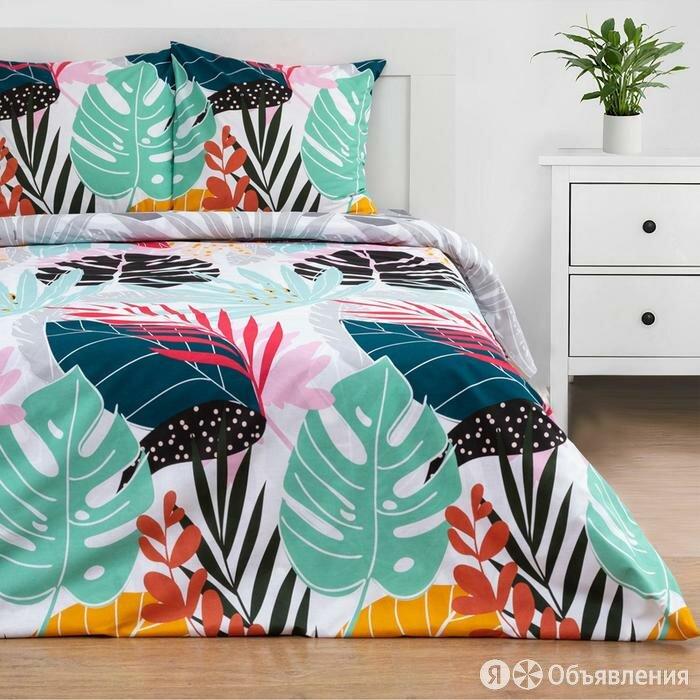 Постельное белье Этель 2 сп Colored tropics (вид 1) 175*215 см, 200*220 см,70... по цене 3026₽ - Постельное белье, фото 0