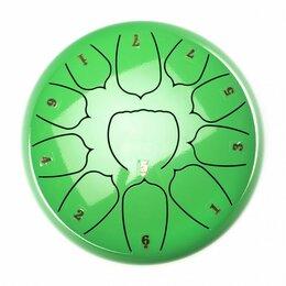 Ударные установки и инструменты - Foix FTD-1011D-GR Глюкофон, 25см, Ре мажор, зеленый, 0