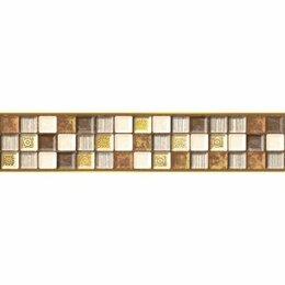 Керамическая плитка - Бордюр Кармен B 6х28 (28шт), 0