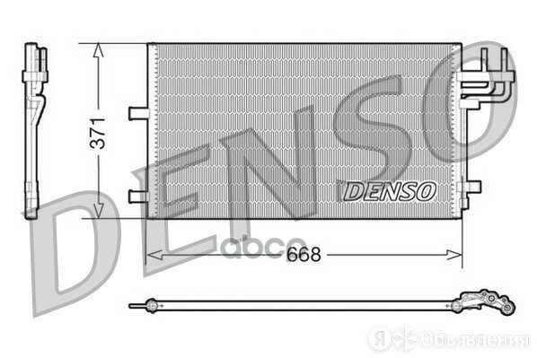 Радиатор Кондиционера Ford C-Max/Focus Denso арт. DCN10007 по цене 8600₽ - Отопление и кондиционирование , фото 0