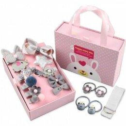 Украшения для девочек - Подарочный набор заколок для девочек, 18 предметов, 0
