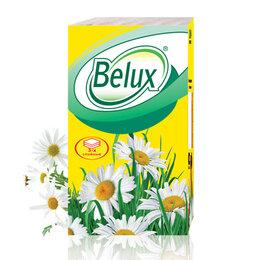 Бумажные салфетки, носовые платки - Belux Платочки бумажные 10 шт, 0