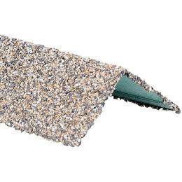Уголки, кронштейны, держатели - Уголок внешний металлический HAUBERK Серо-Бежевый 50*50*1250мм, 0