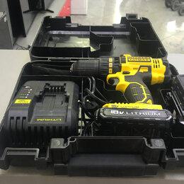 Шуруповерты - Шуруповерт аккумуляторный Stanley FMC601C2K, 0