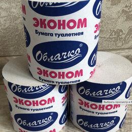 Туалетная бумага и полотенца - Туалетная бумага Облачко Эконом, 0