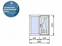 Окна - Пластиковое окно, 0