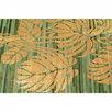 Ковер 170х240 см зеленый Leafs по цене 144090₽ - Ковры и ковровые дорожки, фото 1
