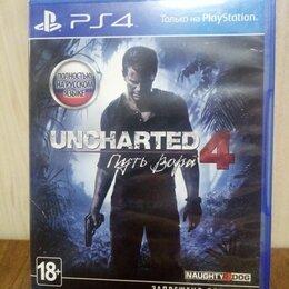 Игры для приставок и ПК - Диск PS4 Uncharted 4 Путь вора б/у, 0
