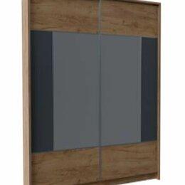 Шкафы, стенки, гарнитуры - Шкаф-купе двухдверный Либерти, 0