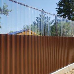 Заборы, ворота и элементы - Забор из профлиста, 0
