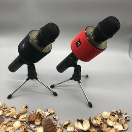 Микрофоны и усилители голоса - Микрофон колонка V8 (новый), 0