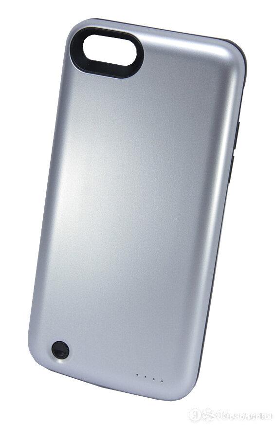 Внешний АКБ чехол для iPhone 7 (4.7) NYX 7-03 3800mAh серый по цене 1305₽ - Универсальные внешние аккумуляторы, фото 0