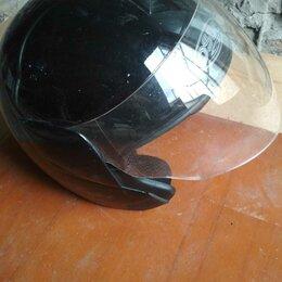 Мотоэкипировка - Мотошлем черный глянец, 0