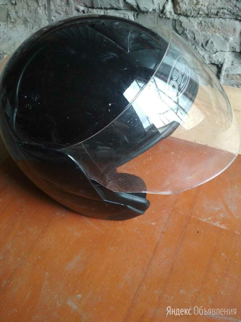 Мотошлем черный глянец по цене 500₽ - Мотоэкипировка, фото 0