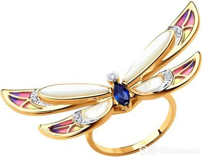 Кольцо SOKOLOV 6019022_s_17-5 по цене 37010₽ - Кольца и перстни, фото 0