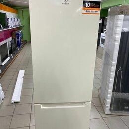Холодильники - Холодильник INDESIT DS 4180 E двухкамерный бежевый, 0