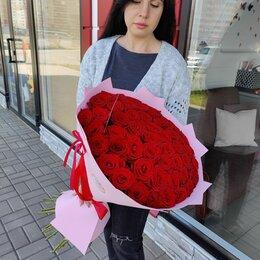 Цветы, букеты, композиции - Букет 51 роза в Липецке, 0