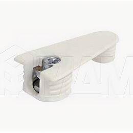 Перфорированный крепеж - Эксцентрик усиленный в пластиковом корпусе с дополнительной футоркой 16 мм, б..., 0