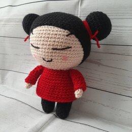 Куклы и пупсы - Вязаная куколка Пукка, 0