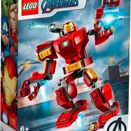 Игровые наборы и фигурки - Конструктор LEGO SUPER HEROES Железный Человек: трасформер, 0