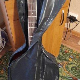 Акустические и классические гитары - Продаю   акустическую  гитару  .новая   в  чехле  ., 0