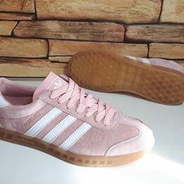 Кроссовки и кеды - Кроссовки Adidas Hamburg женские, 0