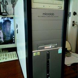 Настольные компьютеры - Microlab multimedia computer system системный блок, 0