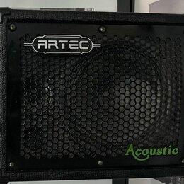 Гитарное усиление - Усилитель для акустической гитары - ARTEC A25D , 0
